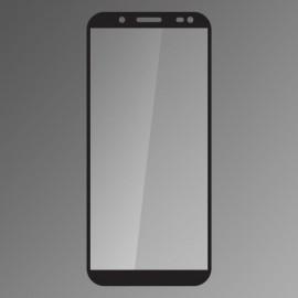 Ochranné sklo Samsung Galaxy J6 2018 čierne, fullcover 0.33mm Qsklo