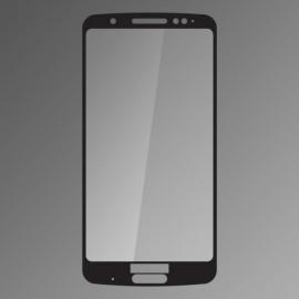 Ochranné sklo Moto G6 Plus čierne, fullcover, 0.33mm Q sklo