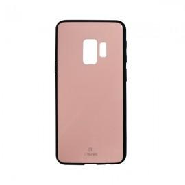 Sklenené puzdro Original Samsung Galaxy S9 ružové