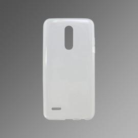 Gumené puzdro LG K9 priehľadné, nelepivé