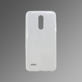 Gumené puzdro LG K11 priehľadné, nelepivé