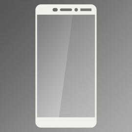 Ochranné sklo Q sklo Nokia 6.1 biele, fullcover