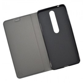 Knižkové puzdro Metacase Nokia 6.1 čierne