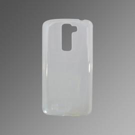 Silikónové puzdro LG Q7 transparentné, nelepivé