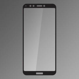 Ochranné sklo Q sklo Huawei Honor 7C čierne, fullcover