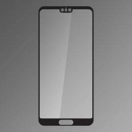 Ochranné sklo Q sklo Huawei P20 čierne, fullcover