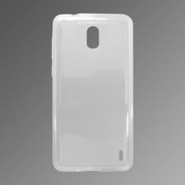 Gumené puzdro Nokia 2 priehľadné, nelepivé