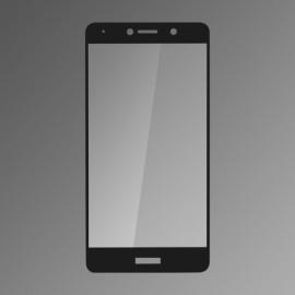 Ochranné sklo Q sklo Huawei Y7 čierne, fullcover, 0,33mm