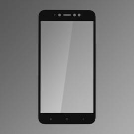 Ochranné sklo Q sklo Xiaomi RedMi Note 5A čierne, fullcover, 0,33mm