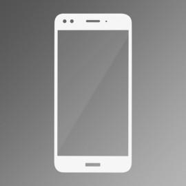 Ochranné sklo Q sklo Huawei P9 Lite mini biele, fullcover