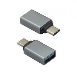 OTG adaptér USB typ C / USB čierny