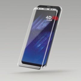 Sturdo 4D ochranné sklo Samsung Galaxy S8, strieborné