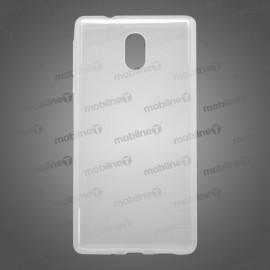 Gumený obal Nokia 3, priehľadný, nelepivý