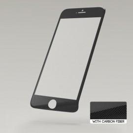 Sturdo ochranné sklo 3D Fiber iPhone 6S, čierny karbón