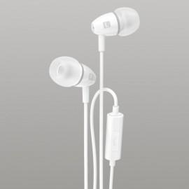 Sturdo stereo headset slúchadlá, 3.5mm, biele