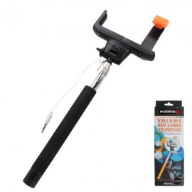 Teleskopická selfie tyč, 3.5 mm jack