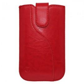 Koženková vsuvka Tidy, XL, červená