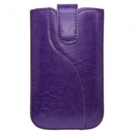 Koženková vsuvka Tidy, XL, fialová
