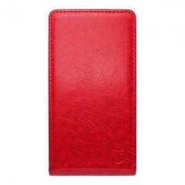 Knižkové puzdro sklopné LG Spirit 4G LTE, červené