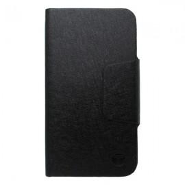 Bočné knižkové puzdro, veľkosť 2XL, čierne