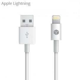 Sturdo dátový kábel MFI certifikovaný Apple Lightning, 1m, biely