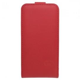 Knižkové puzdro sklopné iPhone 6, červené