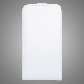 Knižkové puzdro sklopné iPhone 6 Plus, biele