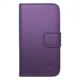 Knižkové puzdro bočné iPhone 6, fialové