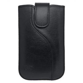 Koženková vsuvka iPhone 5, čierna