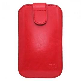 Koženkové puzdro SL, červená