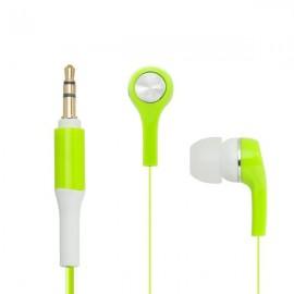 mobilNET slúchadlá MP301, zelené