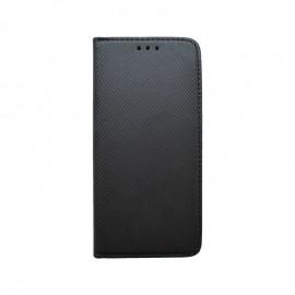 Knižkové puzdro Samsung Galaxy A50 čierne, vzorované