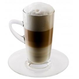 ScanPart Caffe Latte glass s podšálkou 350ml