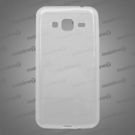 Gumené puzdro Samsung Galaxy J3 2016, priehľadné, anti-moisture