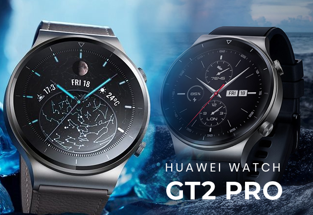 Huawei Watch GT2 Pro, Night Black